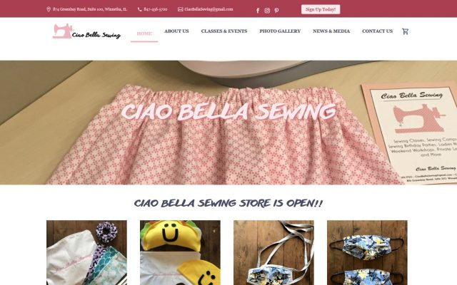 Ciao Bella Sewing